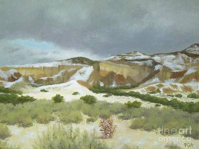Painting - Abiquiu In Winter by Phyllis Andrews