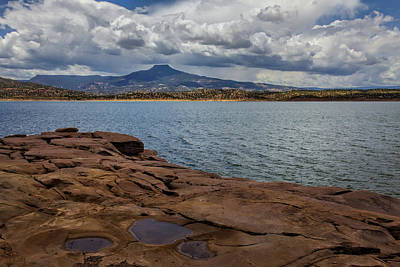 Keef Photograph - Abiquiu Lake by Diana Powell