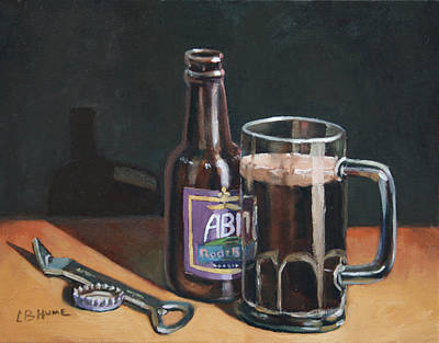 Abita Rootbeer Art Print by CB Hume