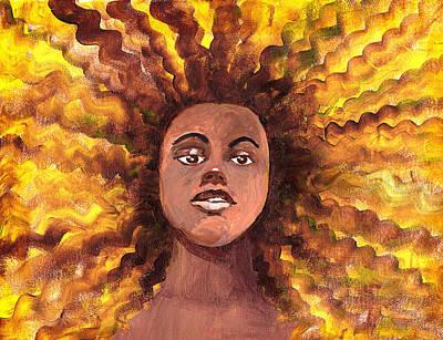 Painting - Abla by Marilyn Hilliard