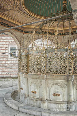 Photograph - Ablution Taps At Mosque by Antony McAulay