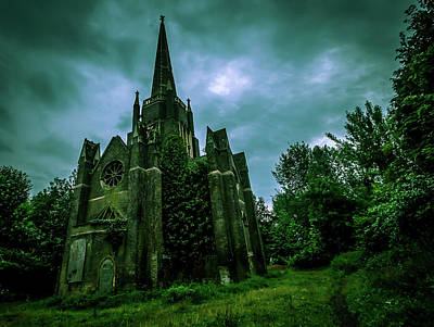 Abney Park Cemetery Art Print by Oliver Kluwe