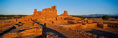 Abo Ruins Salinas Pueblo Missions Art Print by Panoramic Images