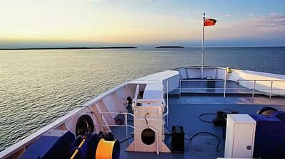 Photograph - Aboard The Chi-cheemaun by Bryan Smith