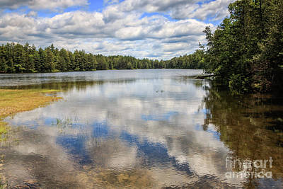 Photograph - Abol Pond In Baxter State Park by Elizabeth Dow