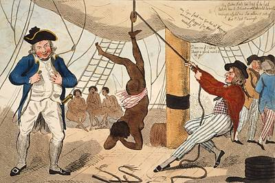 Abolition Of The Slave Trade Or Art Print