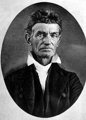 Period Clothing Photograph - Abolitionist John Brown by Everett