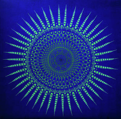 Painting - Aboriginal Inspirations # 100 by Mariusz Czajkowski