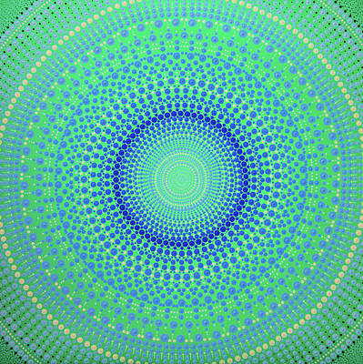 Painting - Aboriginal Inspirations # 101 by Mariusz Czajkowski