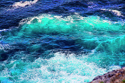 Photograph - About Colours Of Ocean by Miroslava Jurcik