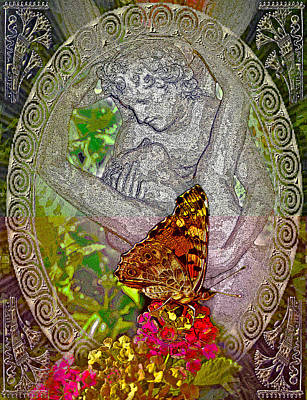 about LOVE. Butterfly effect. Art Print