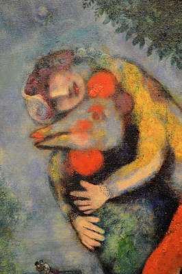 Russian Artist Digital Art -  About Love. The Cock. Chagall. by Andy Za
