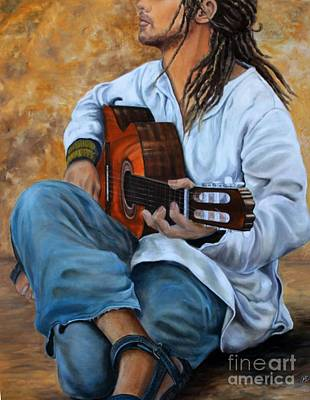 Painting - About The Music 2 by Anna-maria Dickinson