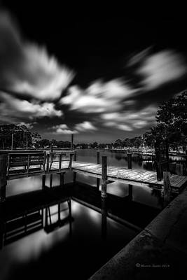 Bayou Abstract Photograph - About The Pier by Marvin Spates