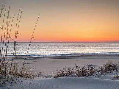Sunrise Photograph - About To Rise by David Cote