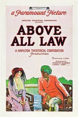 Above All Law Art Print by Paramount