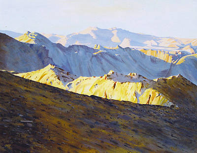 Painting - Above Bighorn by Tyler Ryder