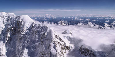Panorama Photograph - Above Denali by Chad Dutson