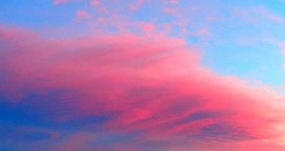 Photograph - Above Our Cloud Omg by VIVA Anderson