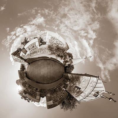 Photograph - Above Porte St. Louis by Chris Bordeleau
