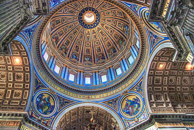 Above Saint Peters Art Print