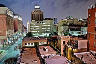 Photograph - Above San Antonio by Frozen in Time Fine Art Photography