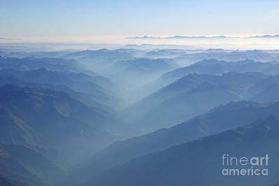 Photograph - Above The Andes by Matt Tilghman