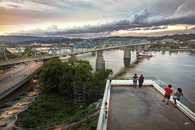 Photograph - Above The Bluff, Musuem View by Steven Llorca