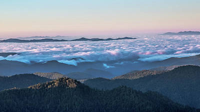 Photograph - Above The Clouds At Myrtle Point by Jemmy Archer