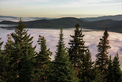 Photograph - Above The Clouds by Brad Wenskoski