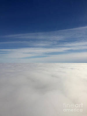 Photograph - Above The Clouds I by Margie Hurwich
