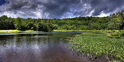 Photograph - Above The Dam by David Patterson