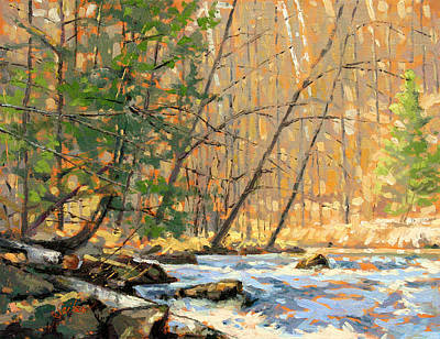 Painting - Above The Falls by Larry Seiler