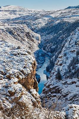 Photograph - Above The Gunnison River  by Jaquita Watters