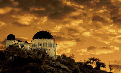 Photograph - Above The Observatory by Joseph Hollingsworth