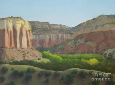 Painting - Above The Ranch by Phyllis Andrews