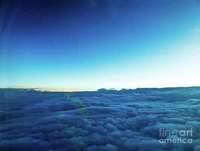 Photograph - Above The Sea Of Clouds by Fei Alexander