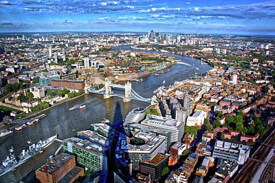 Photograph - Above The Shadow Of The Shard by Jim Albritton