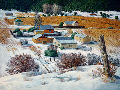 San Juan Painting - Above The Valley by Donna Clair