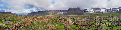 Photograph - above the westfjords of Iceland 2 by Rudi Prott
