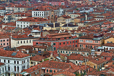 Photograph - Above Venice by Kim Wilson