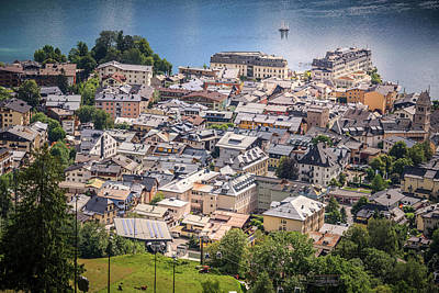 Photograph - Above Zell Am See by Alex Saunders