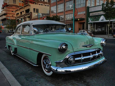 Photograph - Abq - '53 Chevy by Lance Vaughn