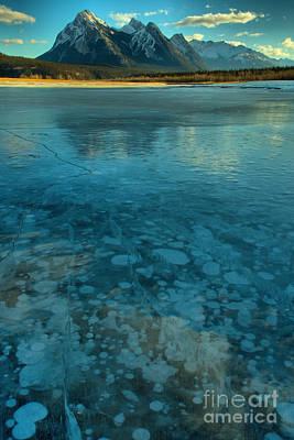 Photograph - Abraham Bubbles And Icy Reflections by Adam Jewell