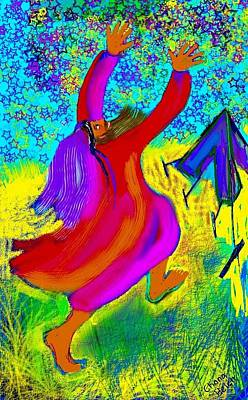 Digital Art - Abraham by Chana Helen Rosenberg