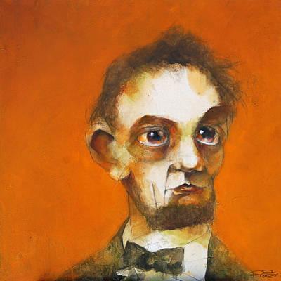 Doubt Painting - Abraham by Kurt Riemersma