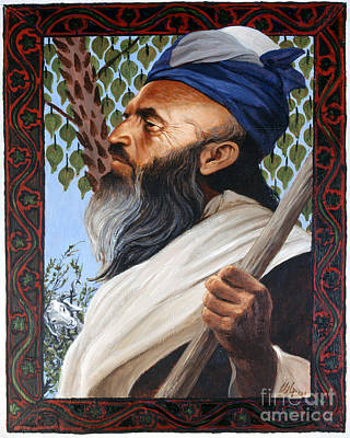 Painting - Abraham - Lgabr by Louis Glanzman