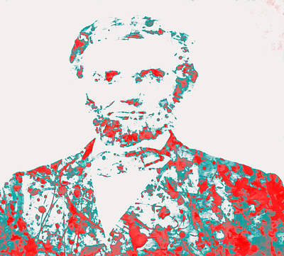 Gettysburg Address Painting - Abraham Lincoln 01 by Brian Reaves
