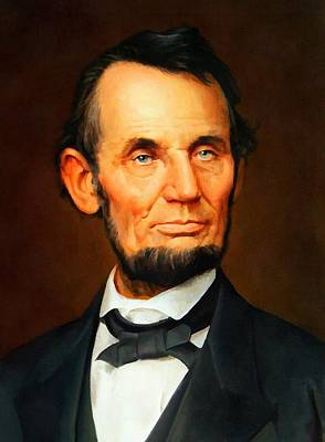 Digital Art - Abraham Lincoln 10 by Abraham Lincoln