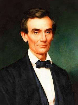 Digital Art - Abraham Lincoln 11 by Abraham Lincoln